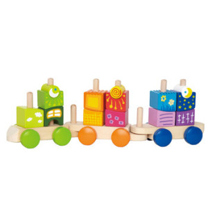 Hape block train
