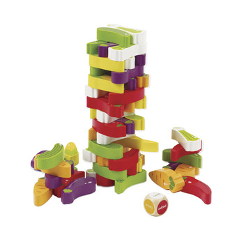 hape veggie stacker game